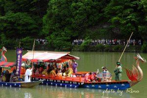 平安京の舟遊び、三船祭